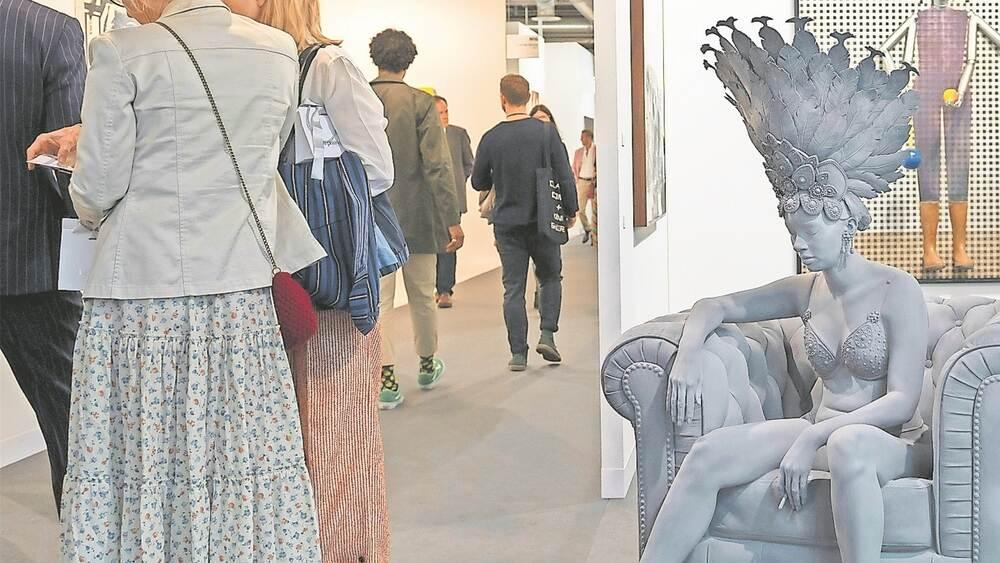 Verkäufe in Millionenhöhe: Die Art Basel zieht Extreme an