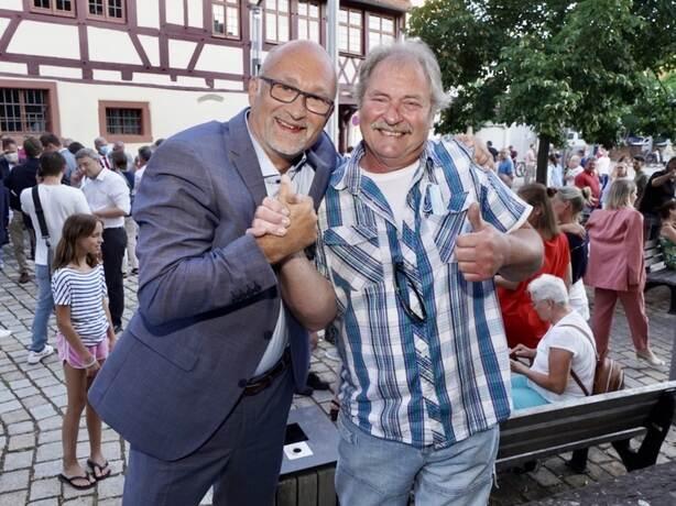Königsbach Stein Bürgermeisterwahl
